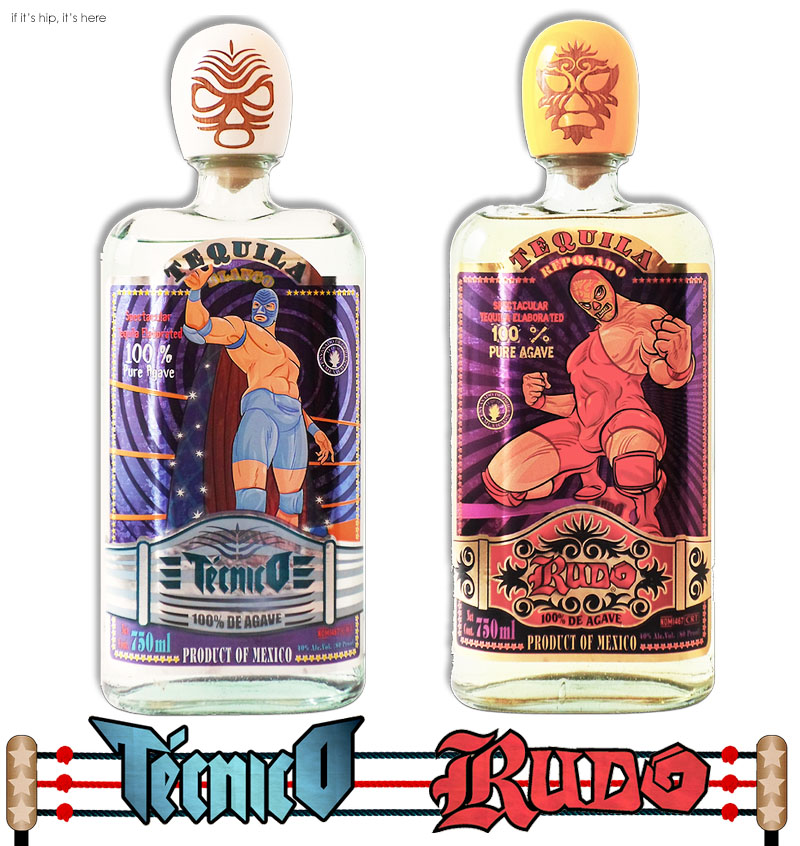 rudo and tecnico tequilas