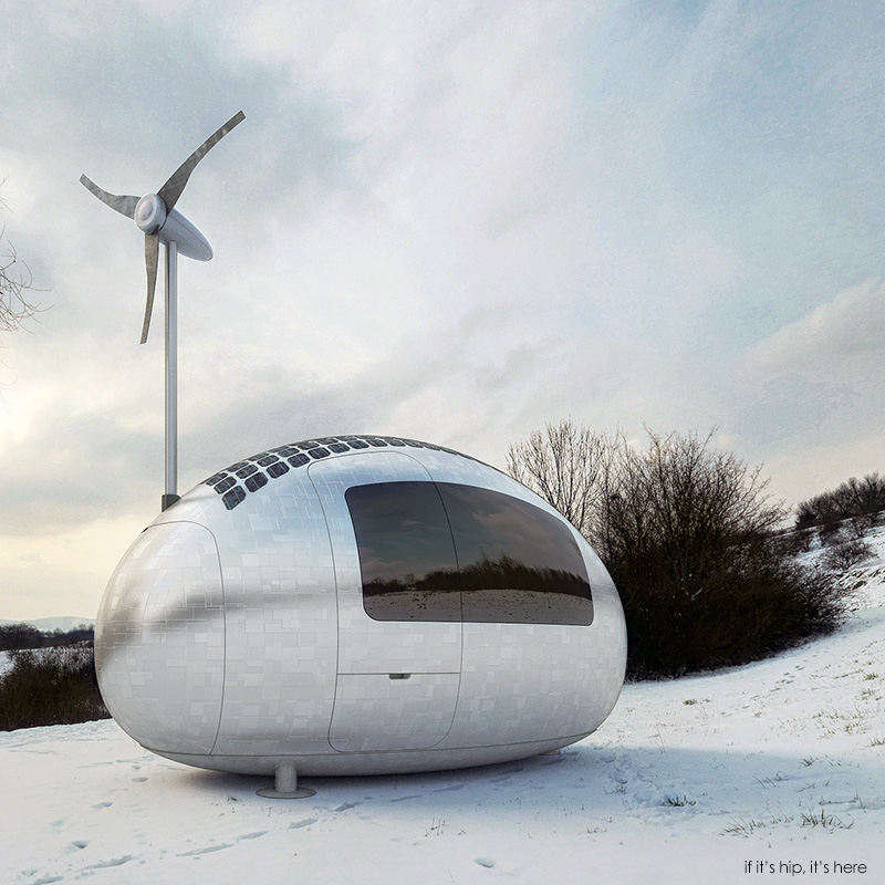 solar and wind-powered Ecocapsule