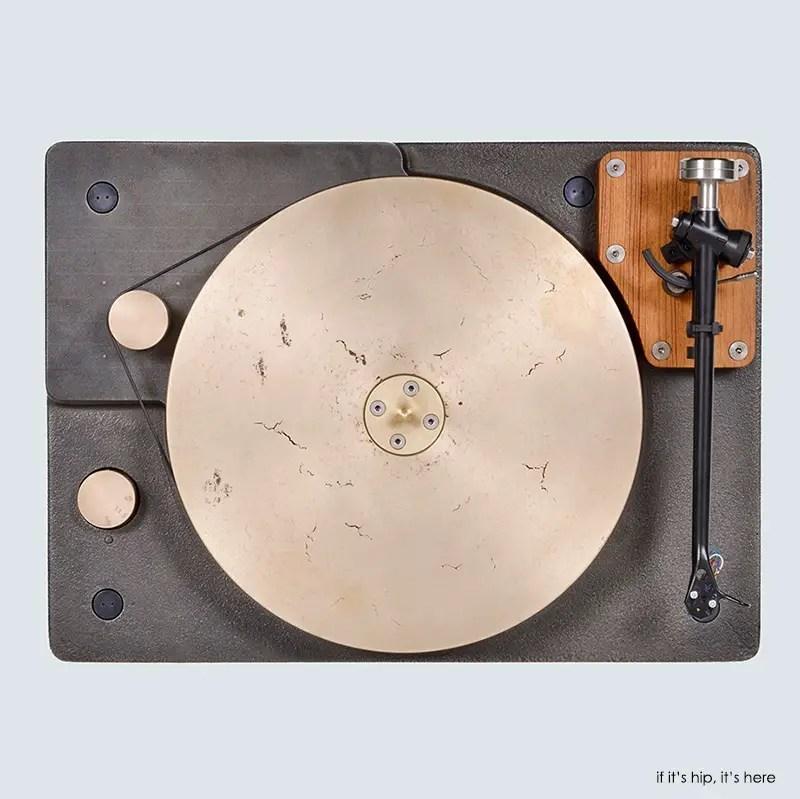 high-tech turntable