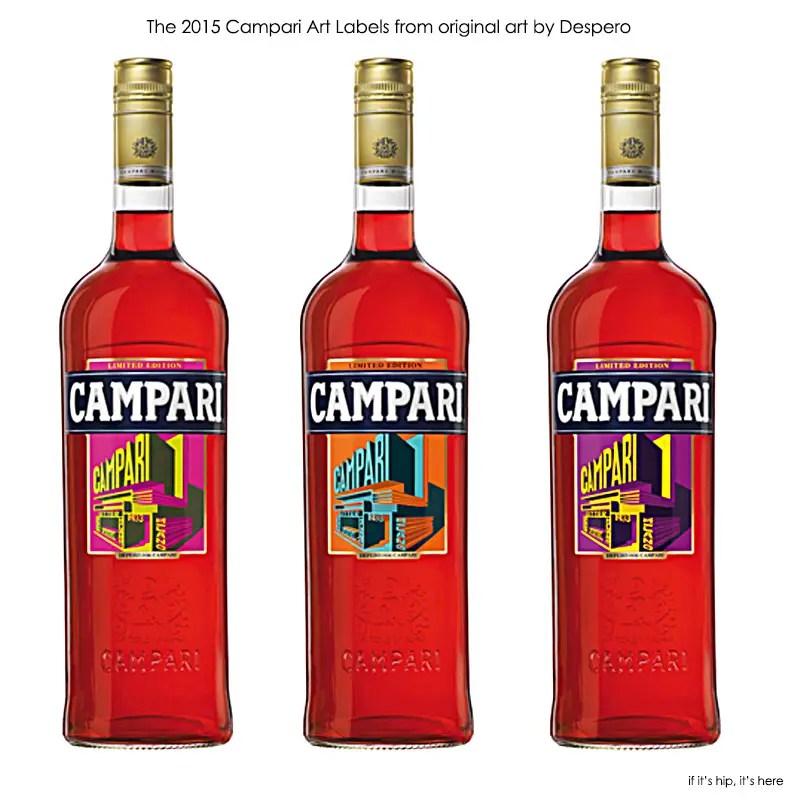 2015 Despero Bottle labels for campari IIHIH