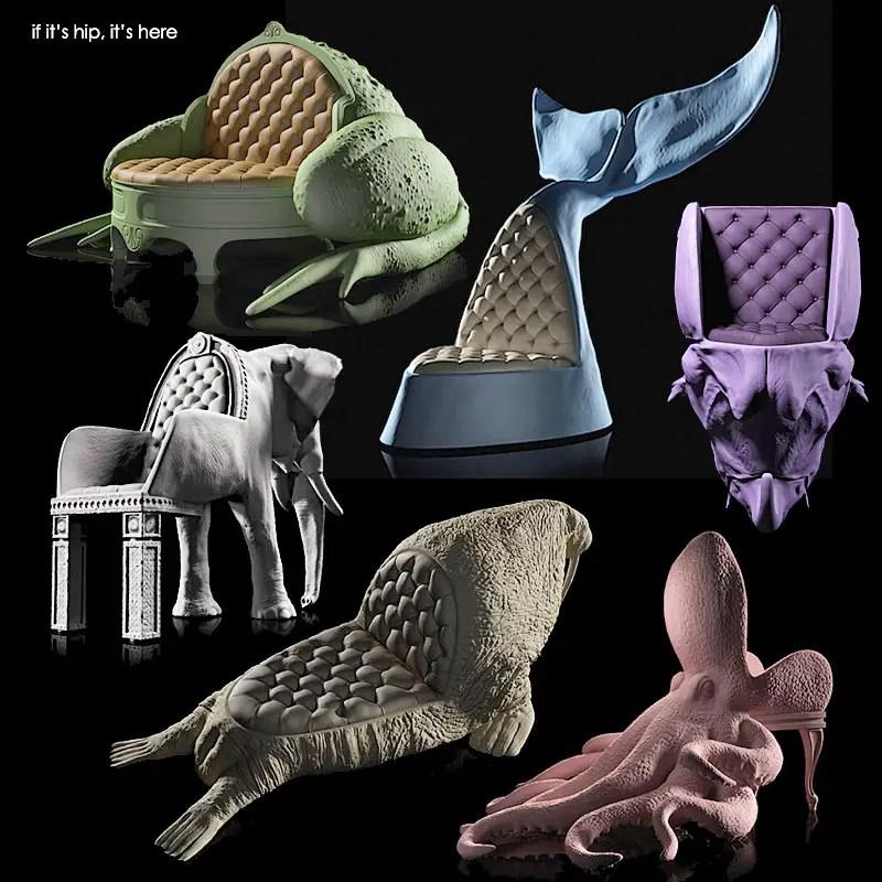 animal chairs