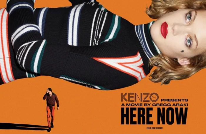 """Gregg Araki's """"Here Now"""" for KENZO"""