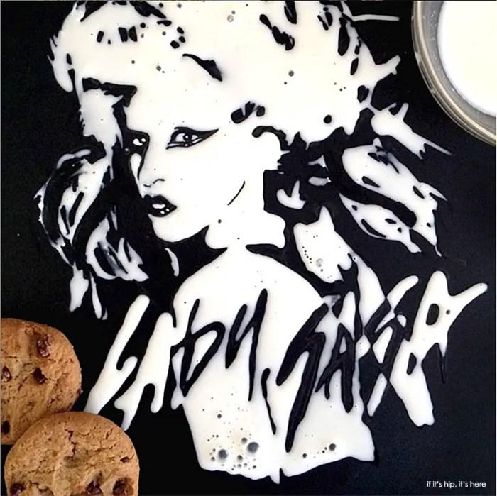 lady gaga milk