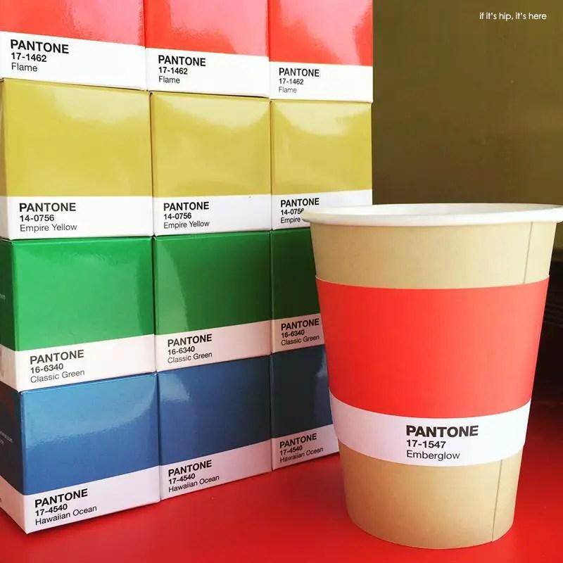 Pantone teas