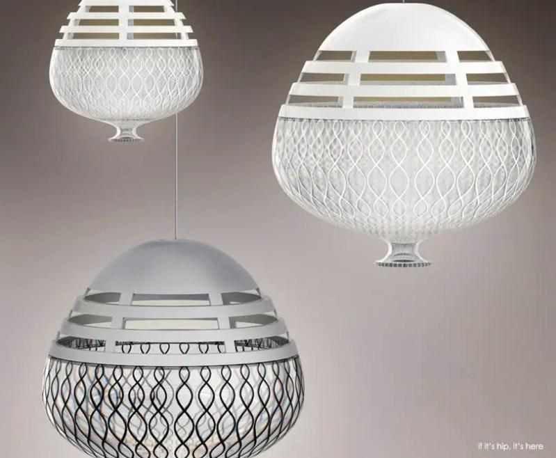 Artemide Invero and Incalmo Suspension Lights