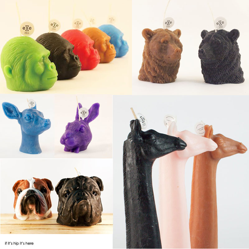 Creative, Cute, Creepy and Cool Candles from Eye Candle ...