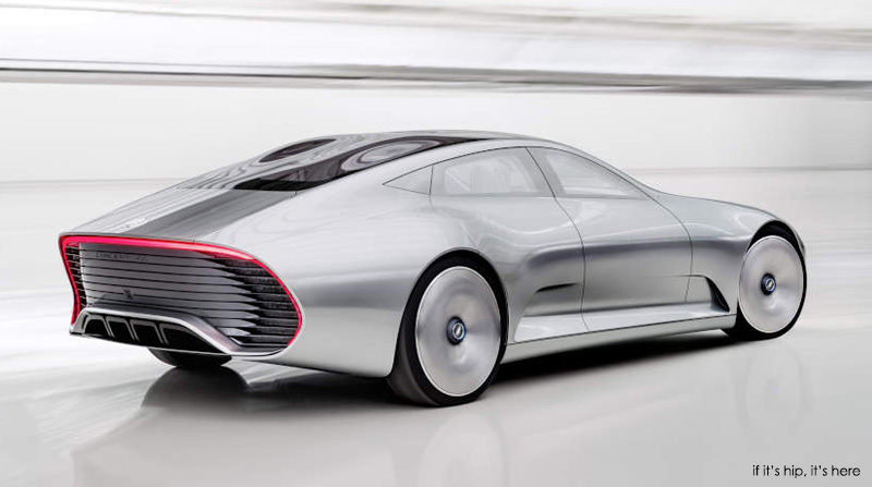 Intelligent Aerodynamic Automobile Concept by Mercedes-Benz