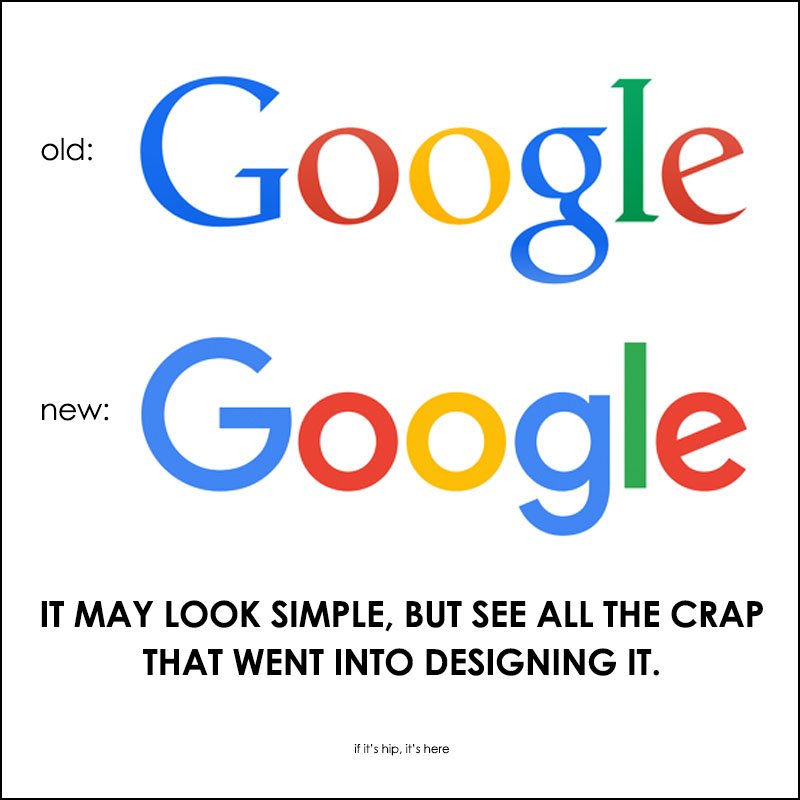 redesigning the google logo
