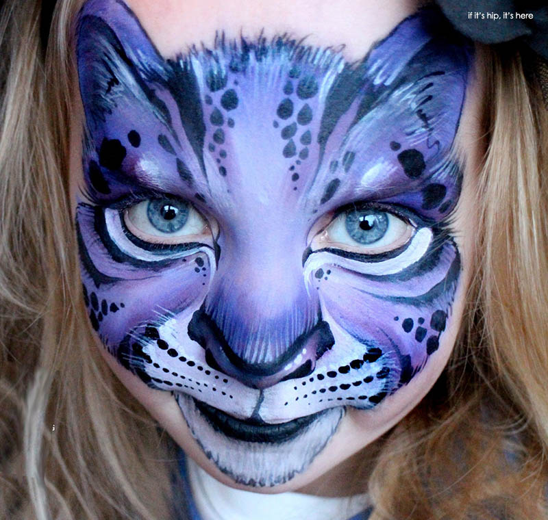 Face Painting Picture Of A Cat
