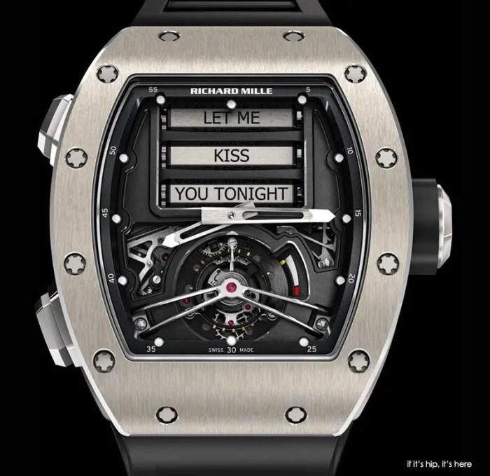 richard mille erotic tourbillon watch