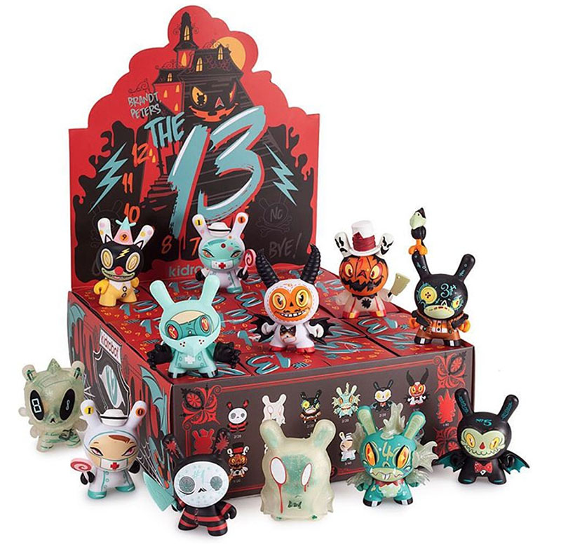 """The """"13"""" Dunny Series & Coloring Book By Brandt Peters"""