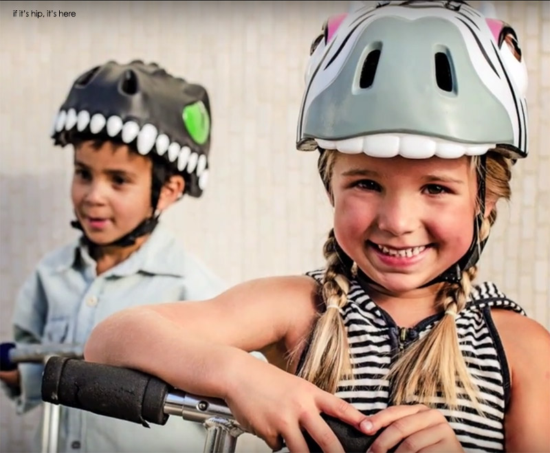 Crazy Safety Helmets For Kids Caution Made Cute If It