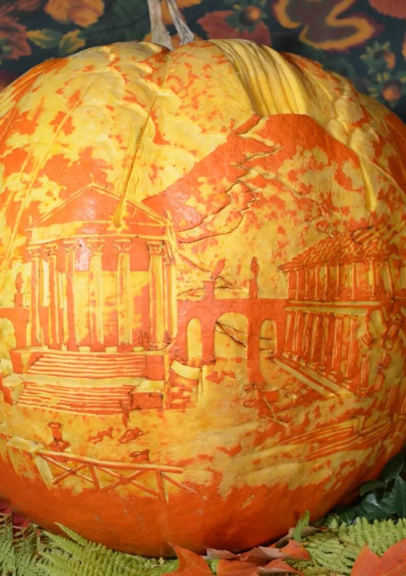 The incredible narrative pumpkin carvings of jeff stikeman