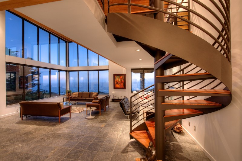 The Spectacular Sea Arches Residence In Mendocino Asking