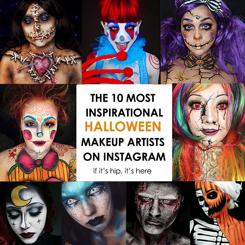 inspirational Halloween makeup artists on instagram