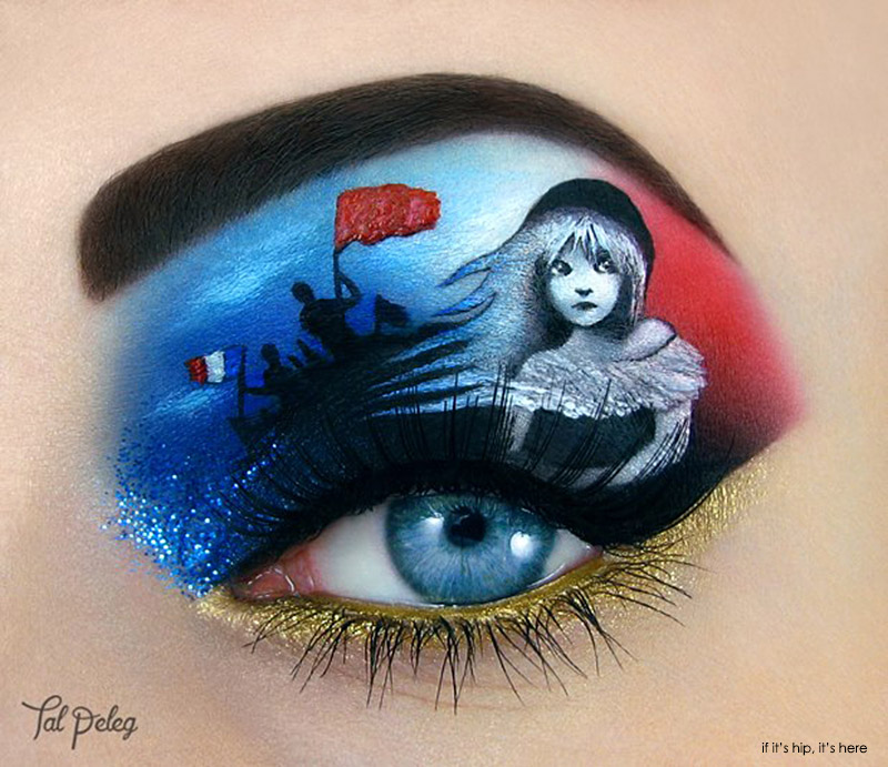 les miserables eye makeup