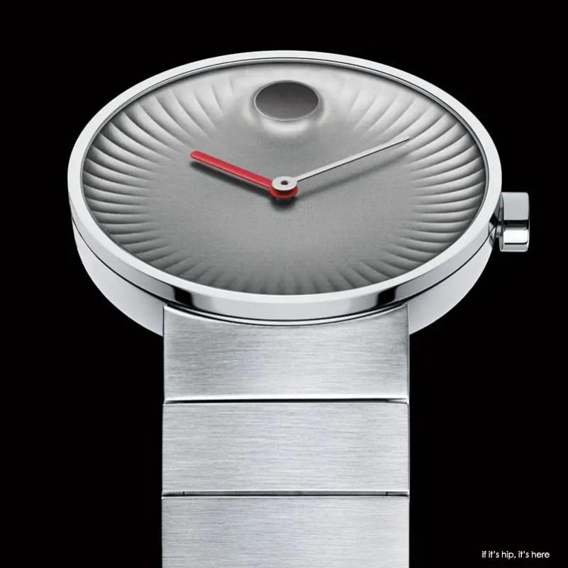 movado edge silver face bracelet 1