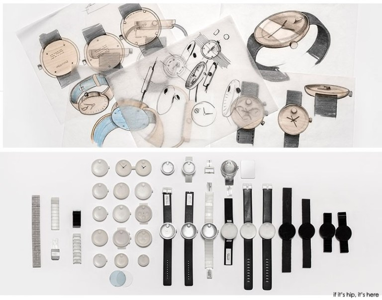 movado edge sketches and elements