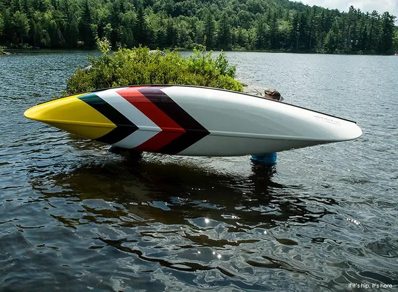 Custom Painted Plastic Kayak