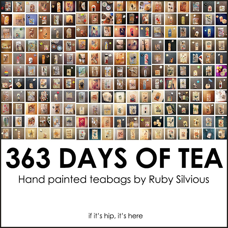 363 Days of Tea by Ruby Silvious
