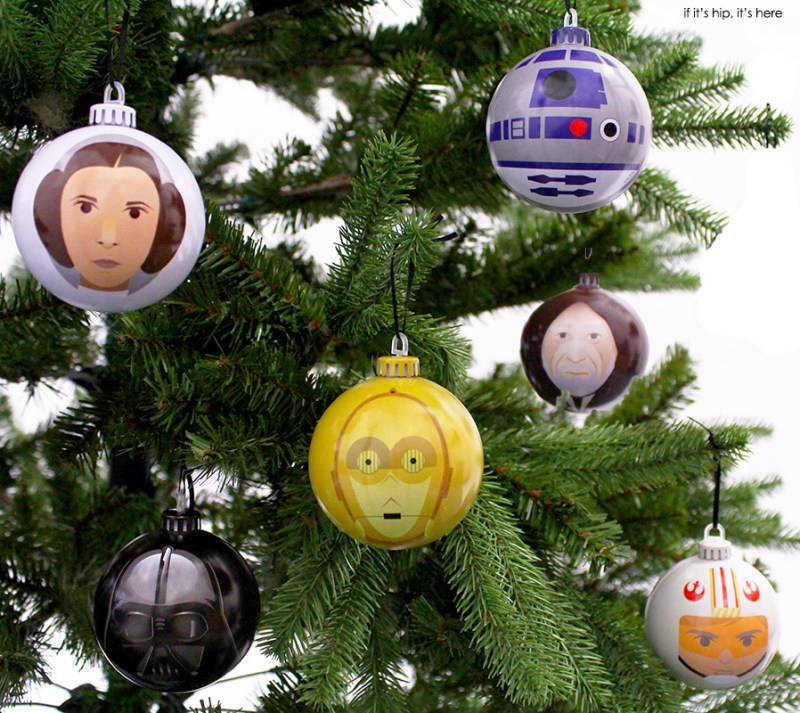 Star Wars Christmas Tree Lights: Finally, Star Wars Christmas Ornaments With Design Appeal