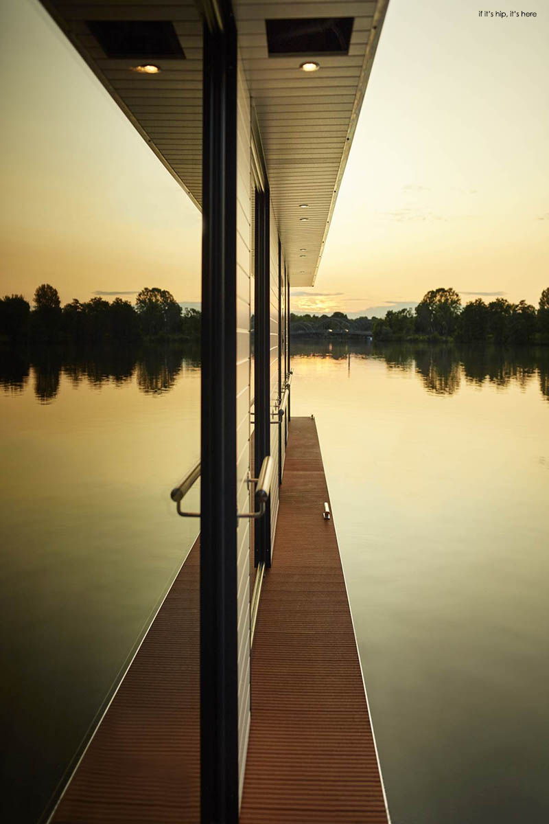 Rev House eco rev house houseboats are floating luxury