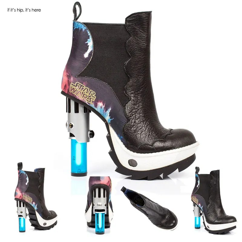 Tattoine Light Saber Ankle boots