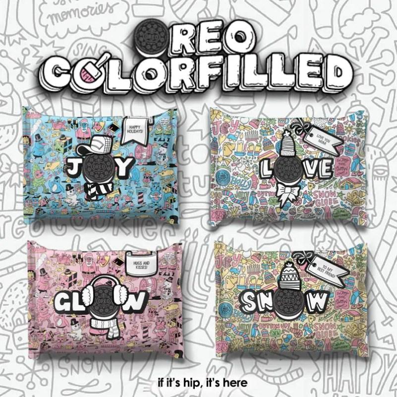 oreo colorfilled four packs IIHIH