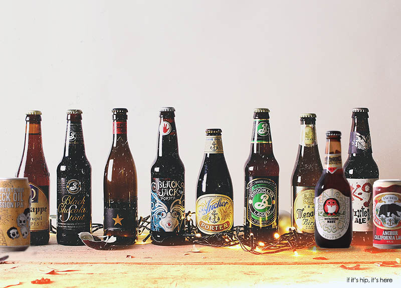 some of the bers in the craft beer advent calendar