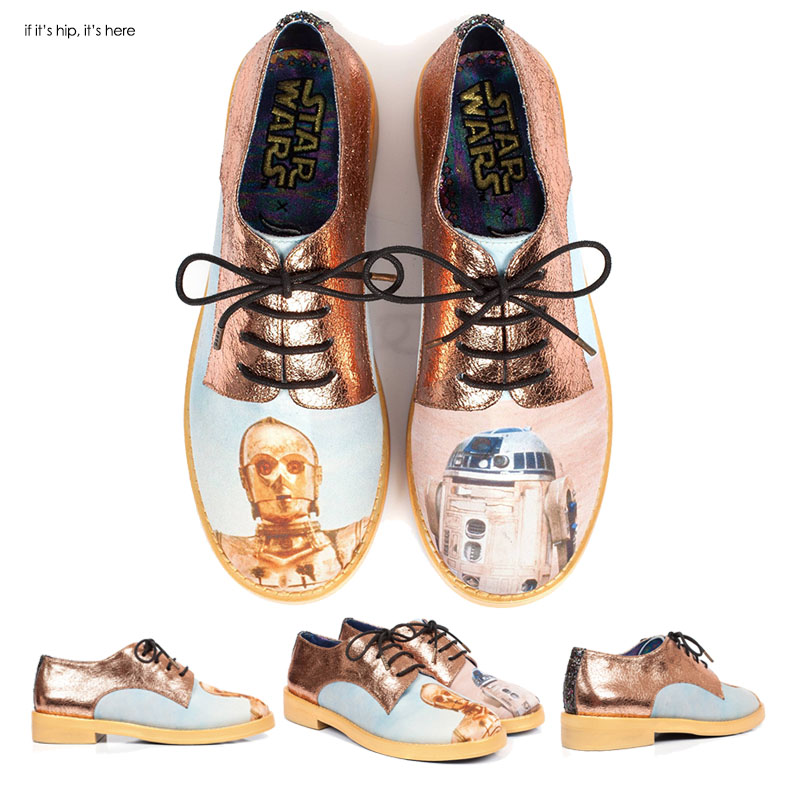 star wars droid oxfords