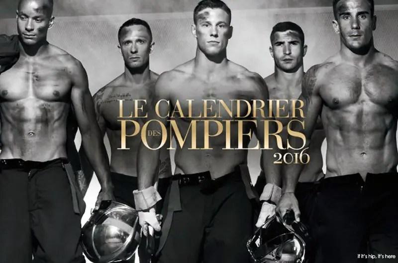 2016 french firemen calendar