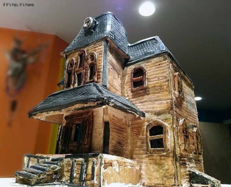 Bates motel gingerbread by brad cerenzia