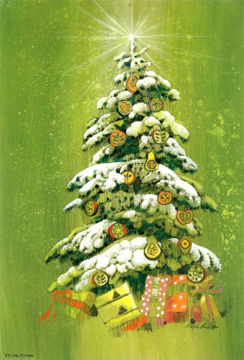 Retro Christmas Courtesy Of Disney Animator Ralph Hulett