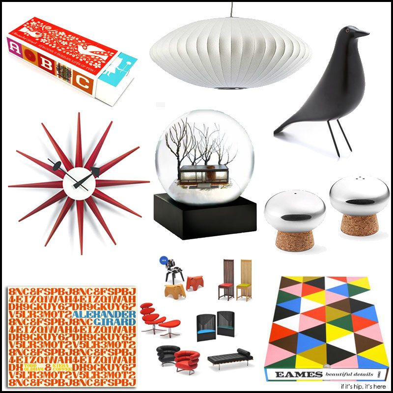 Gift Guide For Mid Century Modern Design Lover. - if it's ...