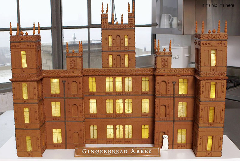 Gingerbread Abbey by Martha Stewart and her team