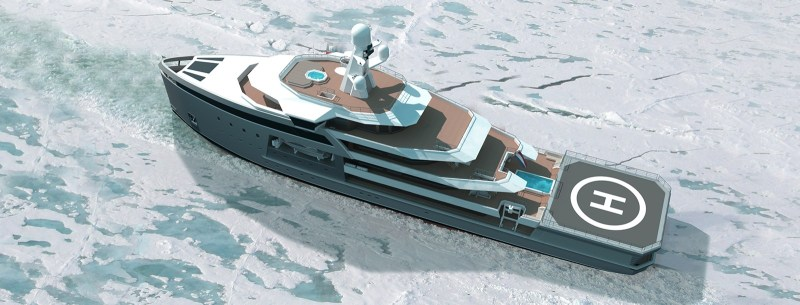 The Seaxplorer Goes Where No Yacht Has Gone Before