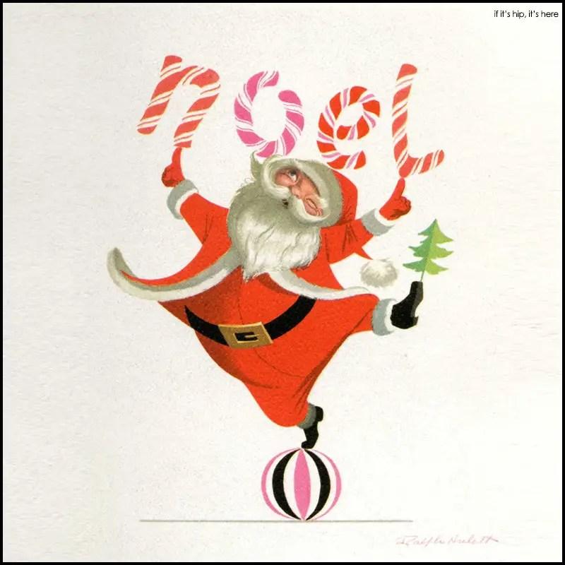 Ralph Hulett Christmas Card Illustrations