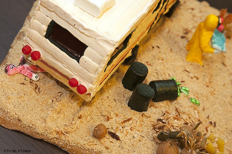 breaking bad gingerbread scene