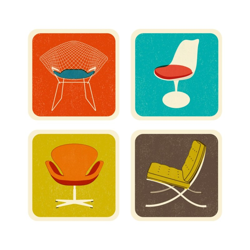 Coasters, Chairs