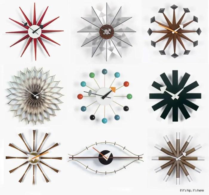 george nelson wall clocks