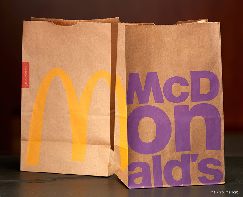 McDonald's new bags for 2016