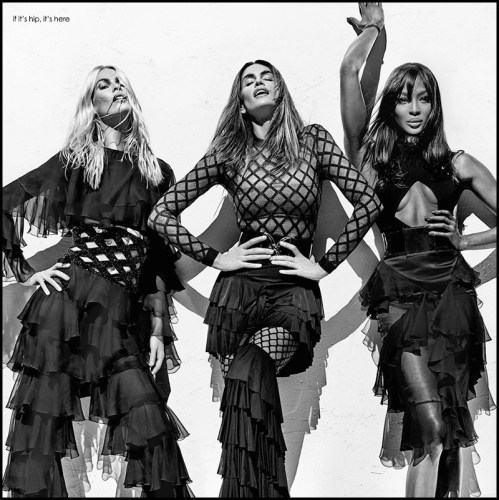 Read more about the article Balmain Ad Campaign Proves Why They Are Called Supermodels.