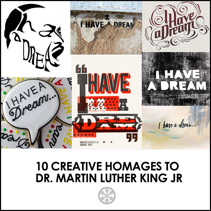 creative homages to MLK