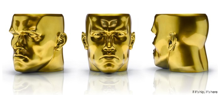 the arnold stool in gold