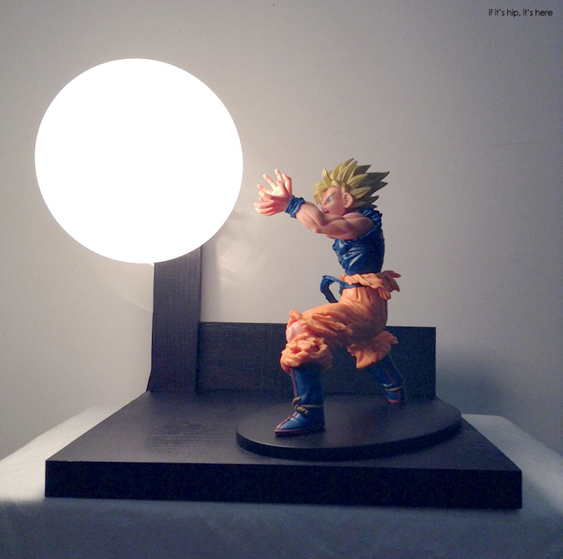 Bardock Vs Goku Custom Lamp2