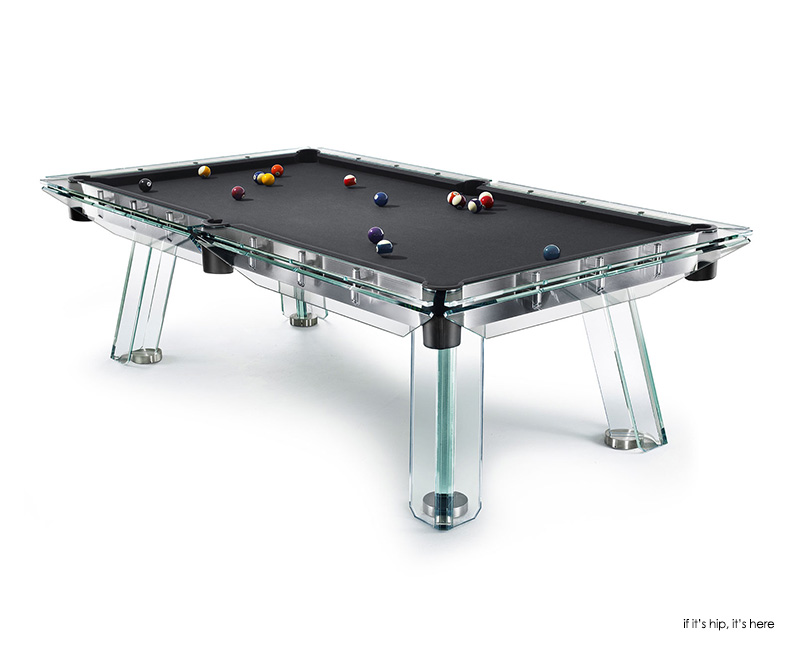 Calma E Gesso Adds Elegance To Billiard And Ping Pong