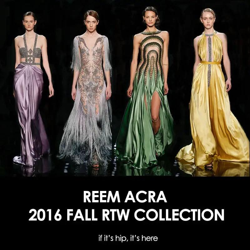 Reem Acra 2016 RTW FallCollection