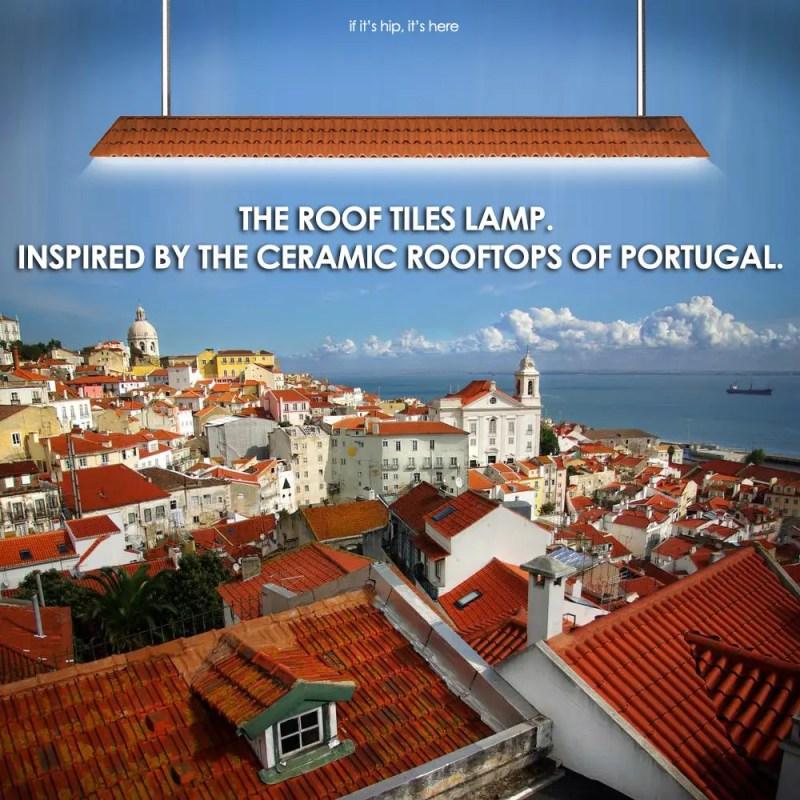 Roof Tiles Lamp
