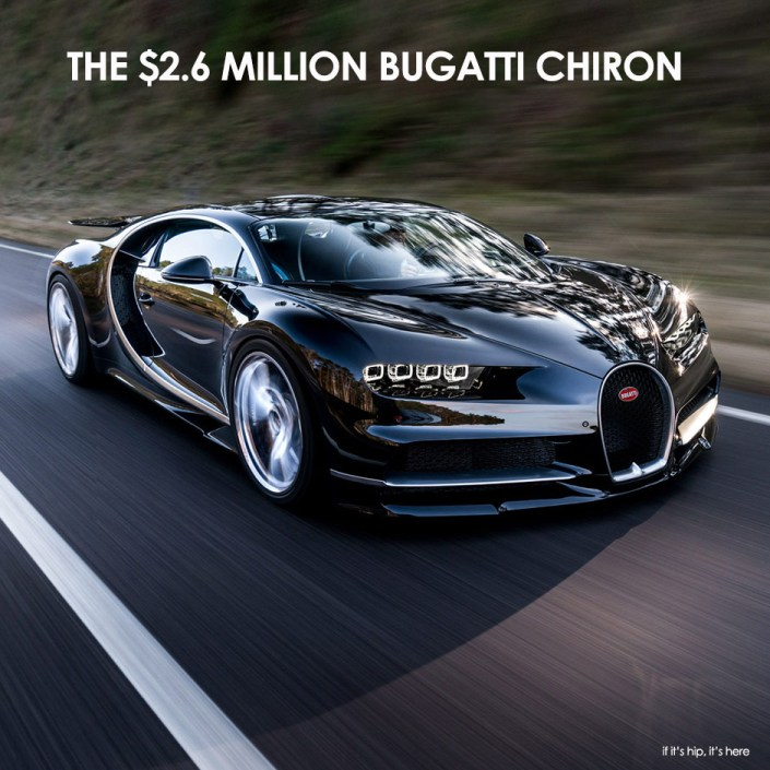 Bugatti Chiron unveiled