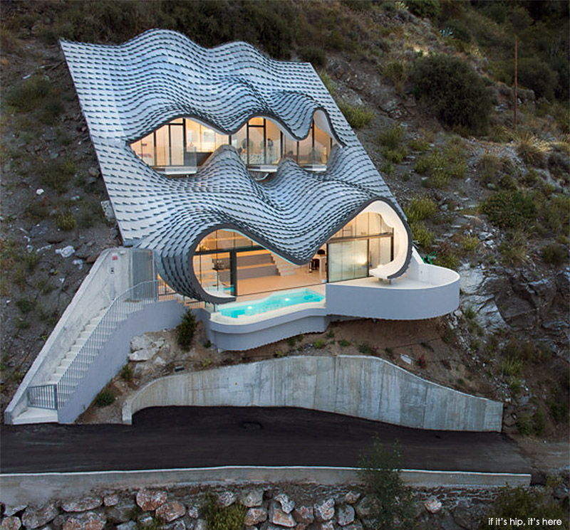 The Casa del Acantilado by GilBartolomé Arquitectos